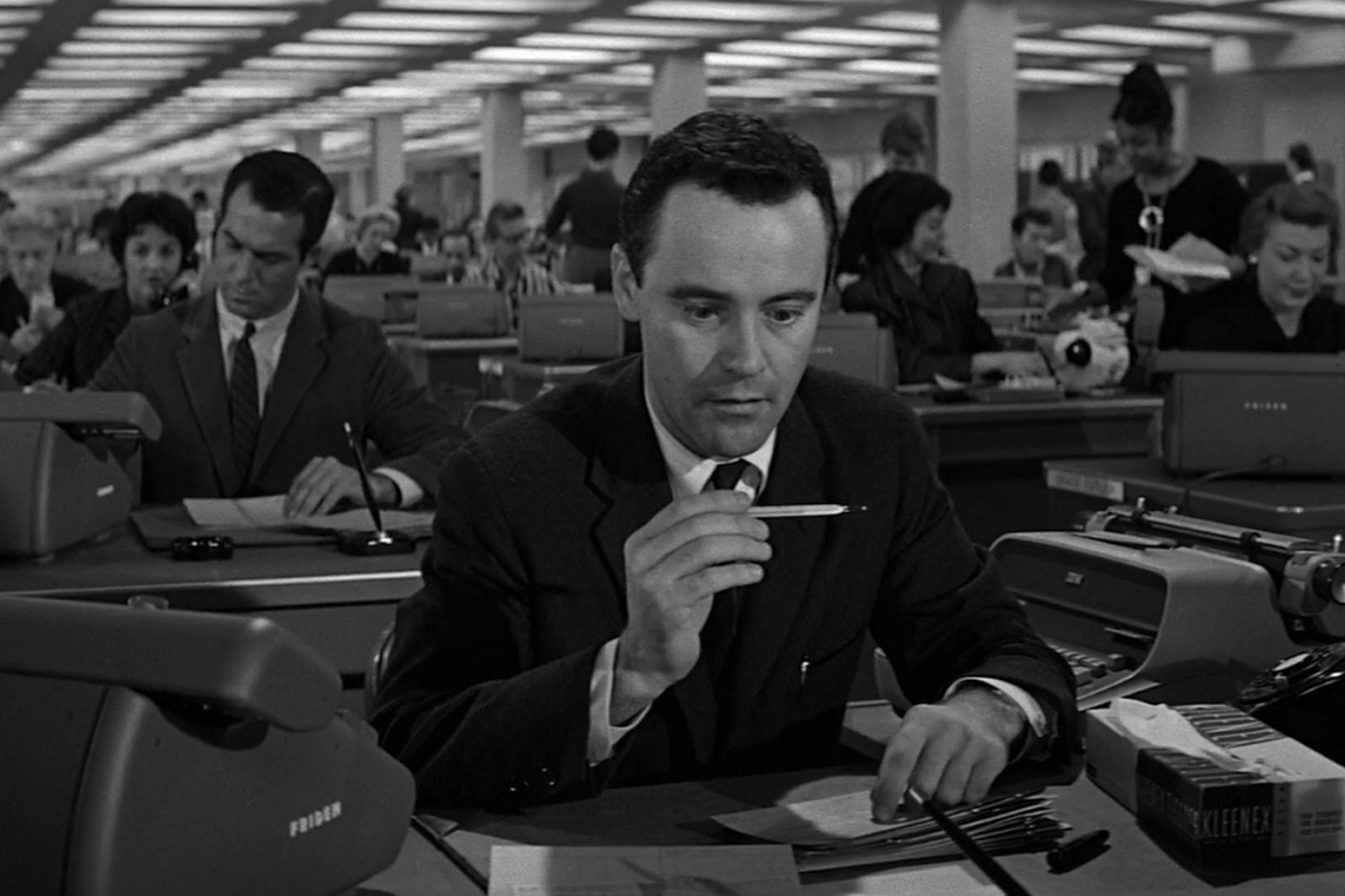 El Apartamento, de Billy Wilder. (Jack Lemmon)